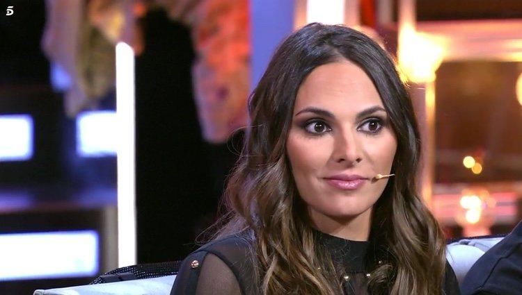 Irene Rosales en el plató del debate de 'GH DÚO' / Telecinco.es