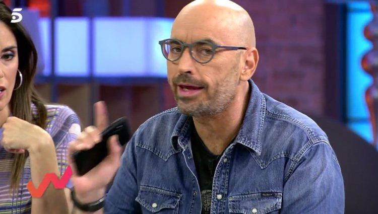 Diego Arrabal hablando de la llamada de Isabel Pantoja / Telecinco.es