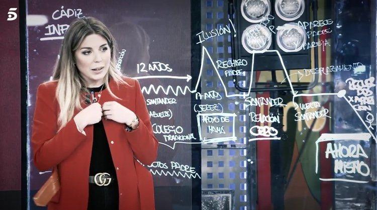 Marta Albalá en 'Sálvame' / Telecinco.es