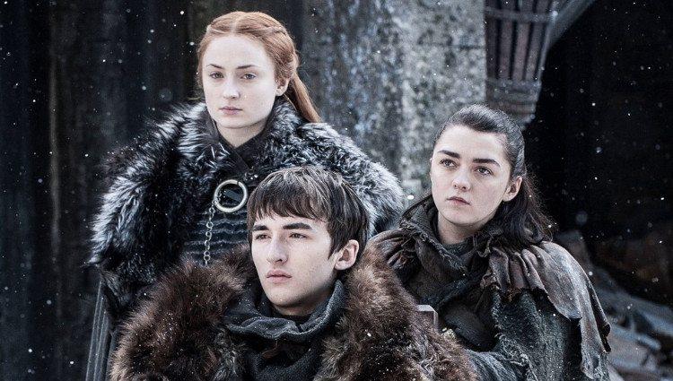 Arya, Bran y Sansa se reencuentran en Invernalia