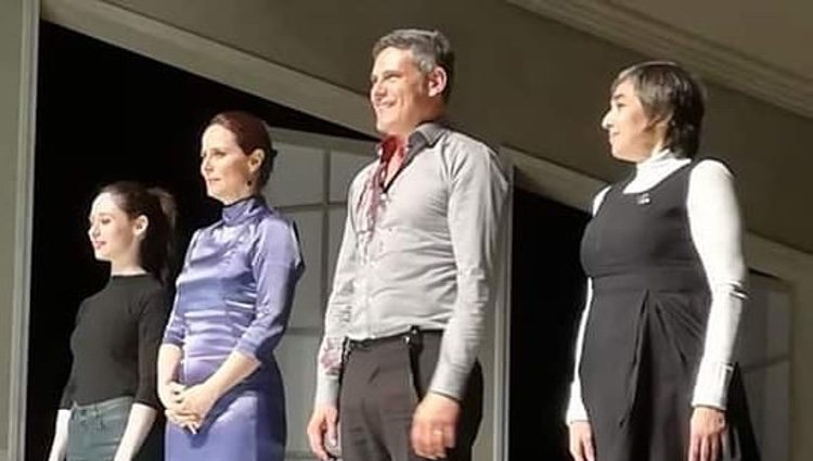 El elenco de la obra de teatro 'La vuelta de Nora'