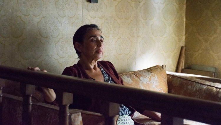 María Isabel Díaz en el corto 'Maras'
