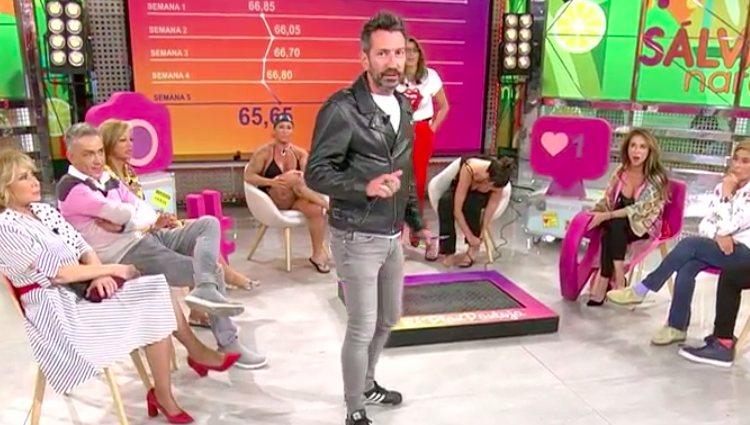 David Valldeperas entra en el plató de 'Sálvame' para dar una noticia bomba | telecinco.es