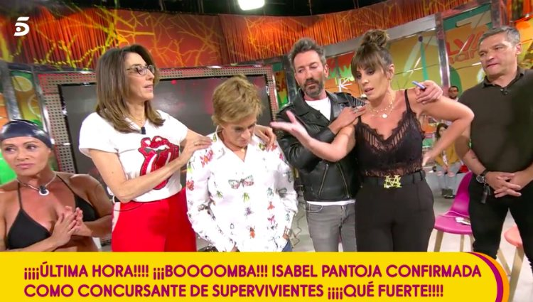 Anabel Pantoja asegura que su tía no le ha contado nada sobre su participación | telecinco.es