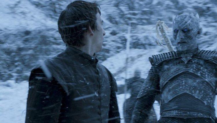Bran Stark y el Rey de la Noche se encontraron en una de las visiones