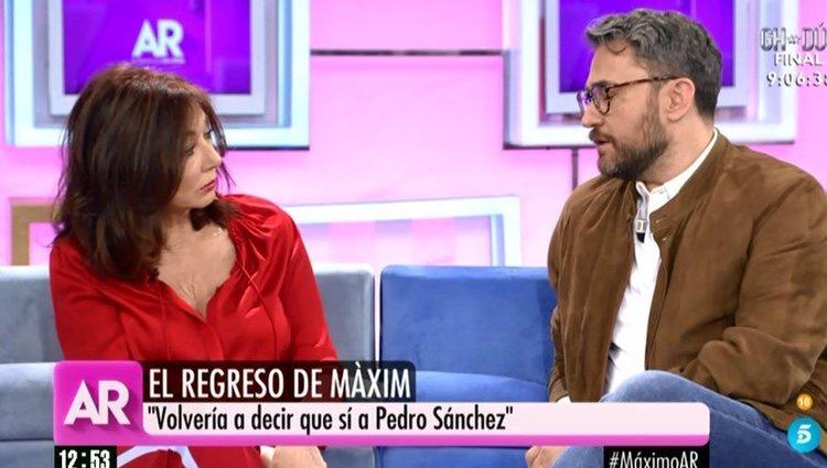 Màxim Huerta en 'El programa de AR' | Foto: telecinco.es