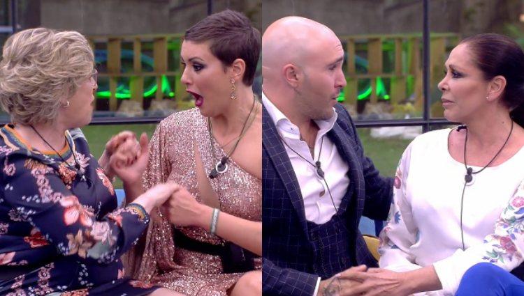 Los finalistas se reencuentran con sus madres en la casa | telecinco.es