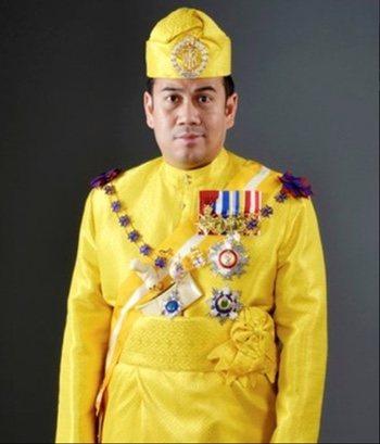 El Príncipe Tengku Muhammad Faiz