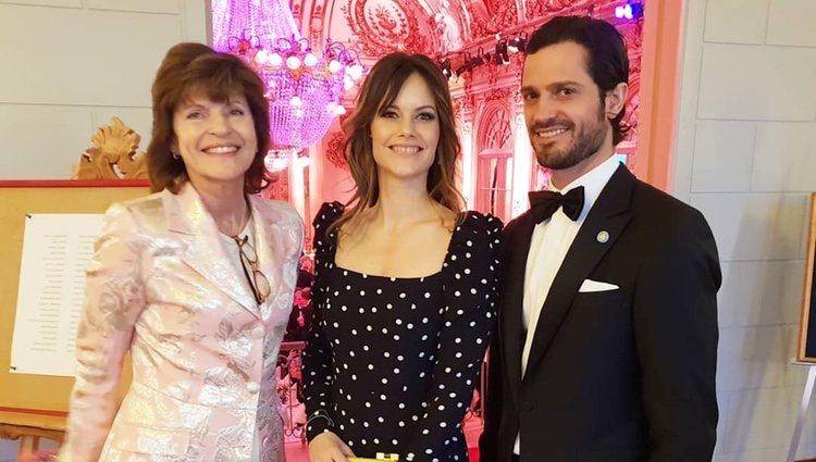 Sofía Hellqvist, Carlos Felipe de Suecia y Mariana Burenstam Linder