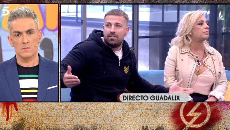 Rafa Mora en 'Sálvame Okupa'/ Foto: Telecinco.es