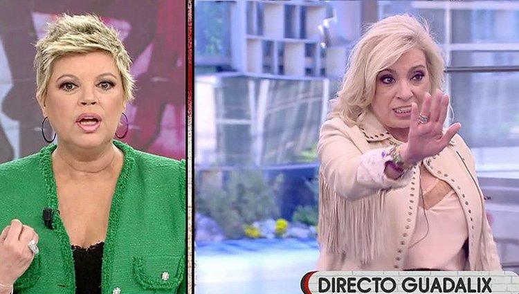 El cabreo de Carmen Borrego con su hermana / Telecinco.es