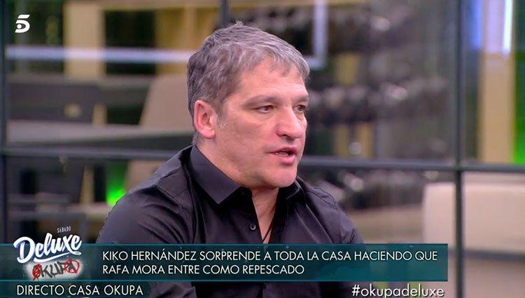 Gustavo González en 'Sálvame Okupa'/ Foto: Telecinco.es