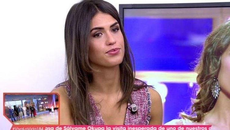 Sofía Suescun realiza una entrevista en 'Viva la Vida' / foto: telecinco.es