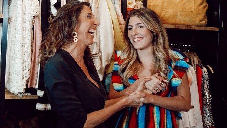 Paz Padilla y Anna Ferrer en la inauguración de su tienda 'No ni ná'/ Foto:  Instagram