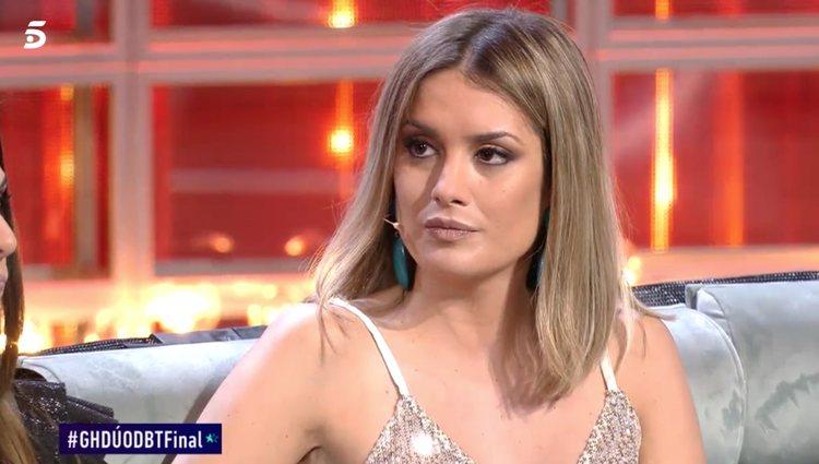 Candela no se cree las disculpas de Antonio Tejado / foto: telecinco.es