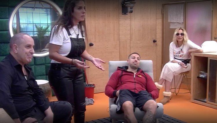 Víctor Sandoval, Anabel Pantoja, Rafa Mora y Belén Rodríguez