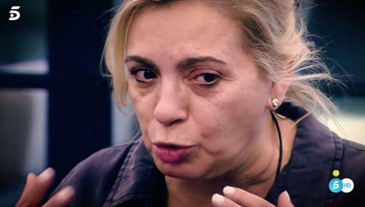 Carmen Borrego hablando del dolor que sentía / Telecinco.es