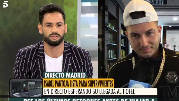 Antes de entrar en Supervivientes, Omar confirmó que hablaba con Isa | Foto: Telecinco