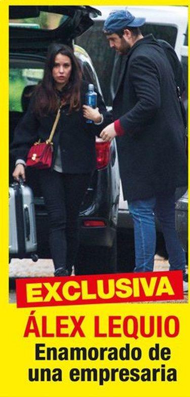 Álex Lequio en la portada de Diez Minutos con su nueva novia
