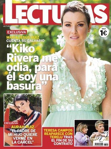 María Jesús Ruiz en la portada de Lecturas | Foto: Lecturas.com