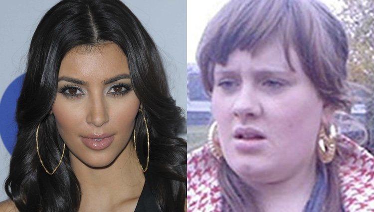 Kim Kardashian y Adele en el pasado/ Foto: redes sociales