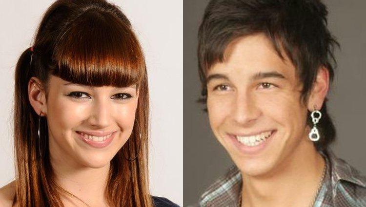 Úrsula Corberó y Mario Casas cuando eran adolescentes/ Foto: redes sociales