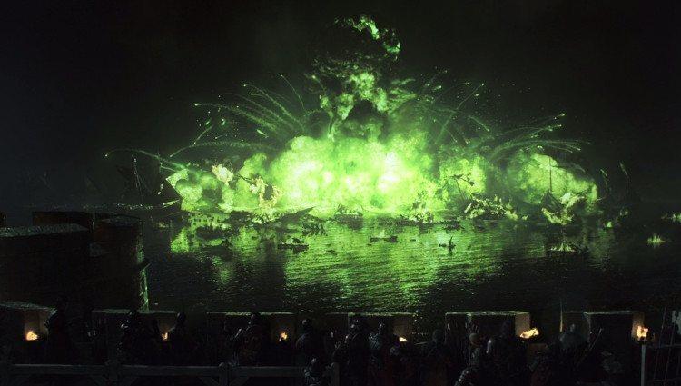 Escena de la Batalla del Aguasnegras