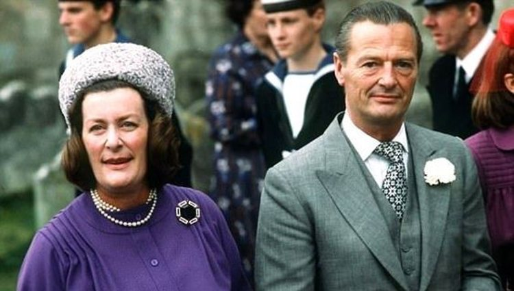 Lady Pamela Mountbatten y David Hicks | Pinterest