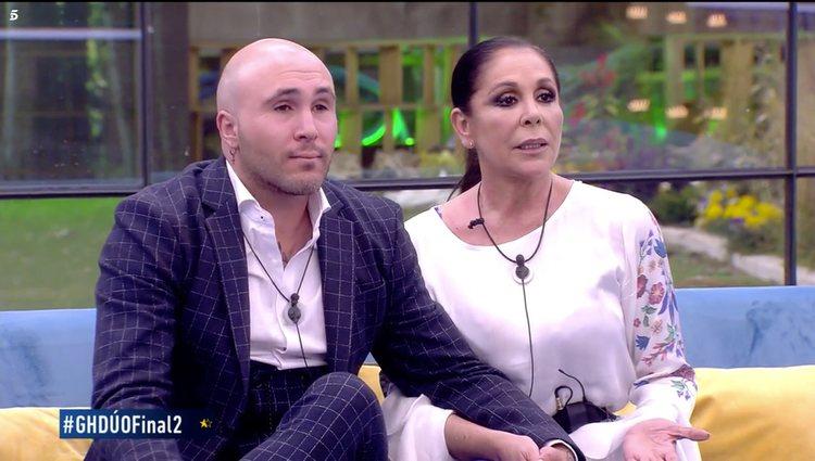 Momento en el que Isabel Pantoja anunciaba su participación en 'Supervivientes 2019'