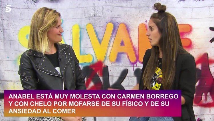 Anabel Pantoja hablando de su paso por 'Sálvame Okupa' / Telecinco.es