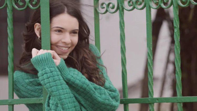 Claudia Traisac interpretando a Anna Allen en 'Paquita Salas'