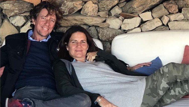 Samantha y Colate Vallejo-Nágera, muy sonrientes, disfrutan de un fin de semana juntos en Segovia/Foto:Instagram