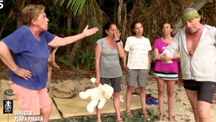 Los concursantes en plena discusión | Foto: telecinco.es