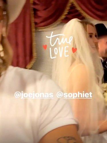 La boda de Joe Jonas y Sophie Turner