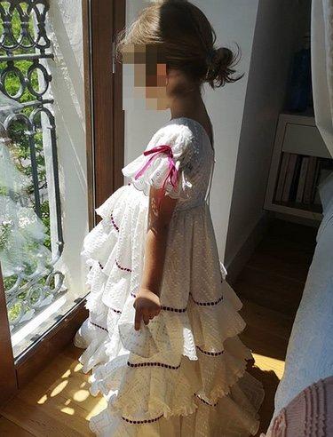 Carmen Rivera vestida de flamenca / Instagram