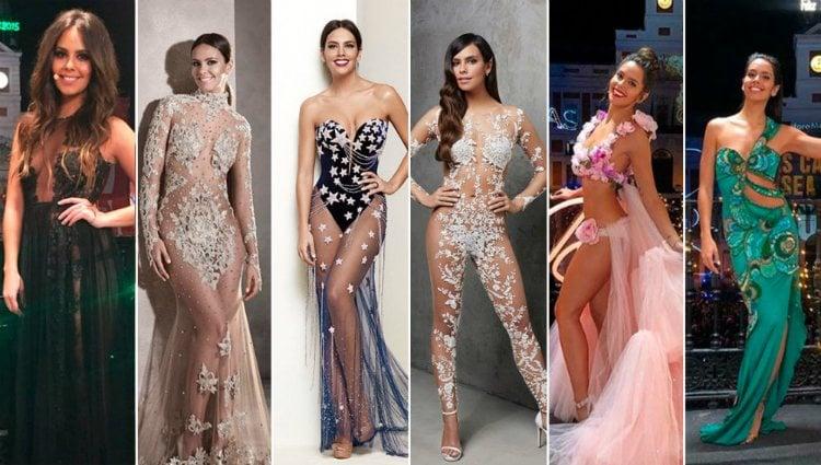 Los espectaculares y polémicos estilismos de Cristina Pedroche para las Campanadas de Fin de Año en Antena 3 |Atresmedia