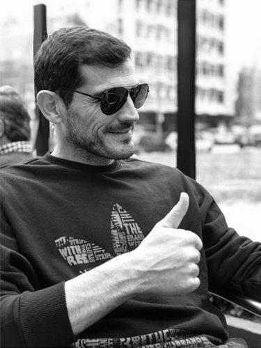 Iker Casillas en una imagen publicada por Sara Carbonero l Foto: Instagram