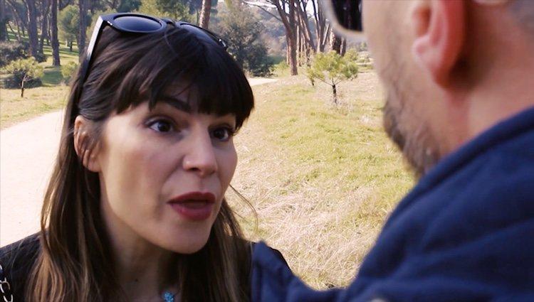 Mónica Regueiro en uno de sus cortos con Fele Martínez
