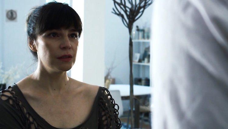 Mónica Regueiro en un fotograma de uno de sus cortos