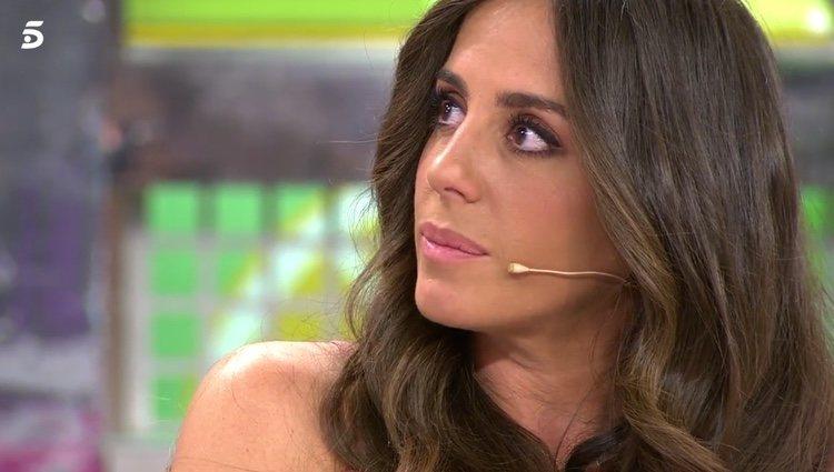 Anabel Pantoja se emociona hablando de sus sobrinos / Telecinco.es