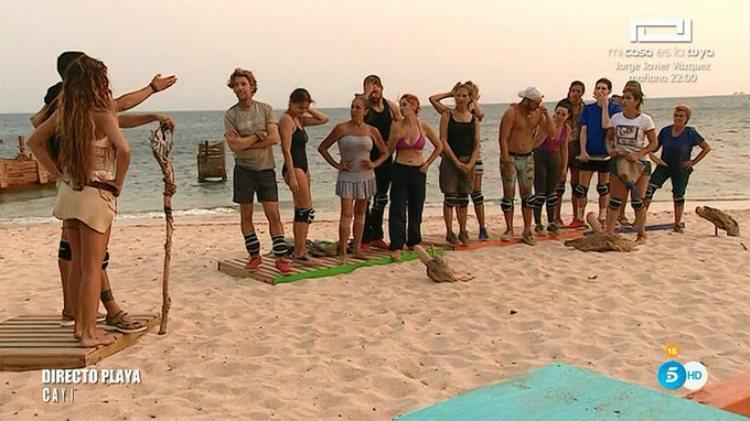 El equipo de Fabio gana el juego y se queda con la 'Playa Pirata'   telecinco.es