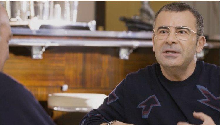 Jorge Javier durante su entrevista en 'Mi casa es la tuya'/Foto:Mitele