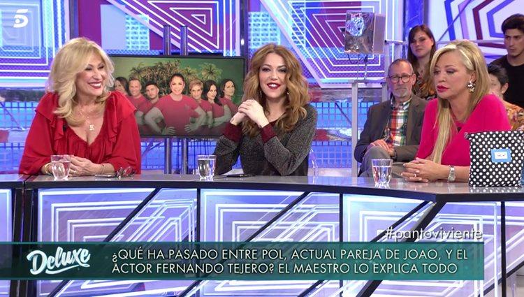 Rosa Benito y Belén Esteban aclaran su amistad / foto: telecinco.es