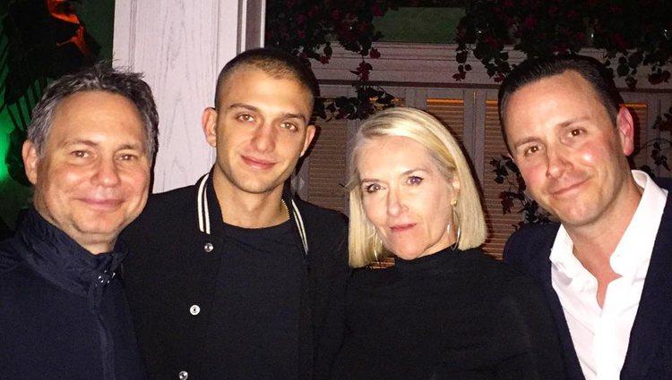 Maggio Cipriani con amigos / foto: Instagram Jason Binn