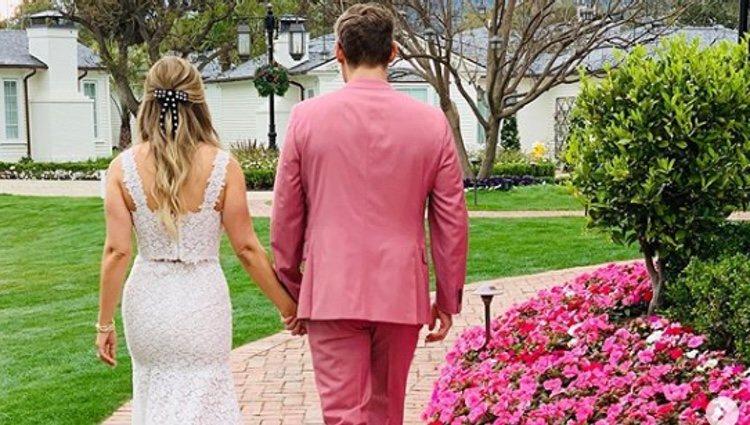 Trevor Engelson y Trabey Kurland casados