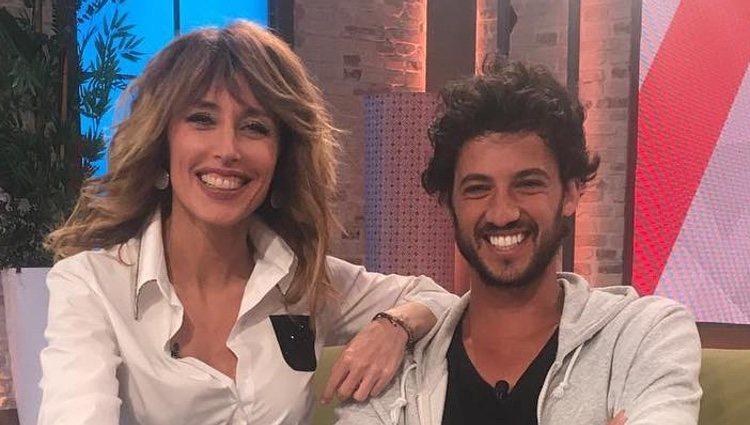 Emma García y Jorge Brazález en 'Viva la Vida'/ Foto: telecinco.es