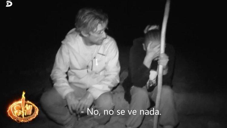 Colate apoyando a Isabel Pantoja | Foto: telecinco.es