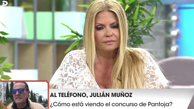 Makoke pregunta a Julián Muñoz sobre sus sentimientos / foto: telecinco.es