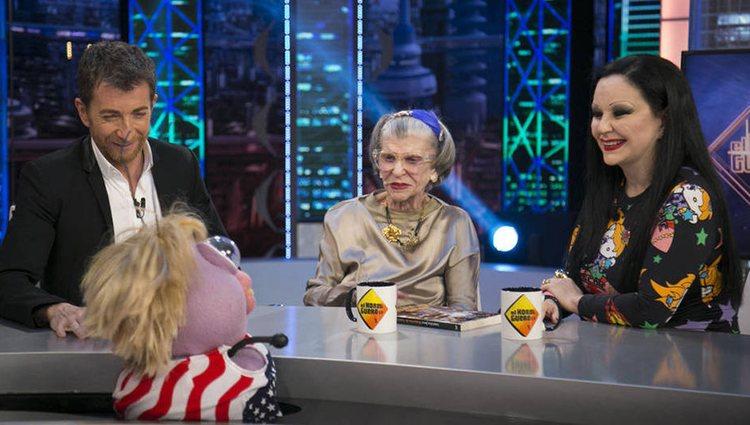 Alaska con su madre América en 'El Hormiguero' | Foto: Antena 3