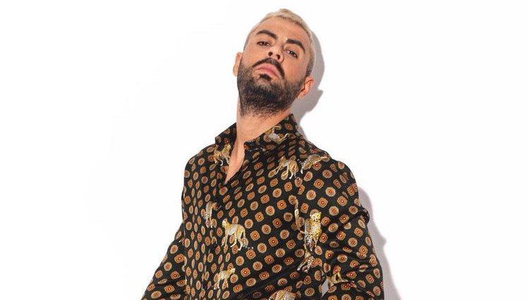 El cantante Javi Mota